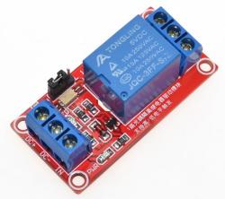 Relay Module 1Ch 5V with Optocoupler.