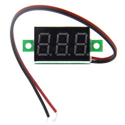 Mini Digital Voltmeter 4.5-30Vdc.