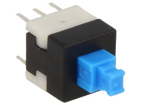 DPDT Latching Tact Switch