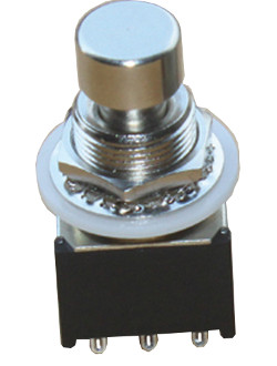 Mini 3PDT Latching Foot Switch