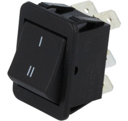 DPDT Rocker Switch 2-Pole ON/ON