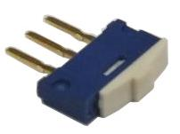 Miniature PCB slide switch