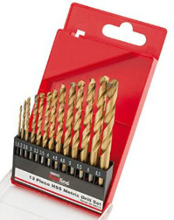 Draper 13pc HSS Metric Drill Set