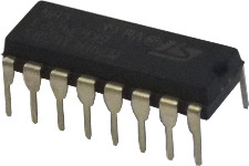 100R DIL Network - 8 isolated resistors
